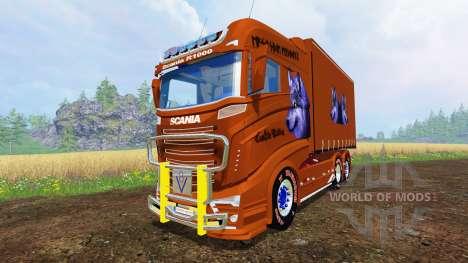Scania R1000 [plane] для Farming Simulator 2015