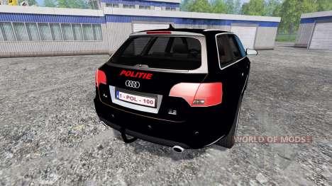 Audi A4 Police v1.1 для Farming Simulator 2015
