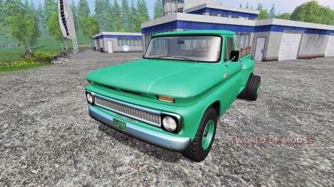 Chevrolet C10 1966 4x4 для Farming Simulator 2015