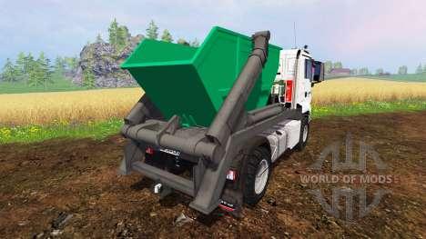 MAN TGS 41.480 [forest] для Farming Simulator 2015