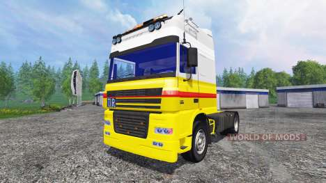 DAF XF Shell для Farming Simulator 2015