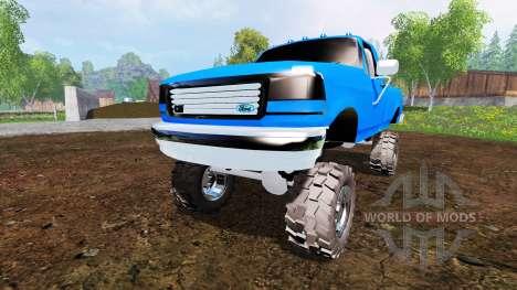 Ford F-150 v2.0 для Farming Simulator 2015