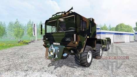 MAN KAT I для Farming Simulator 2015