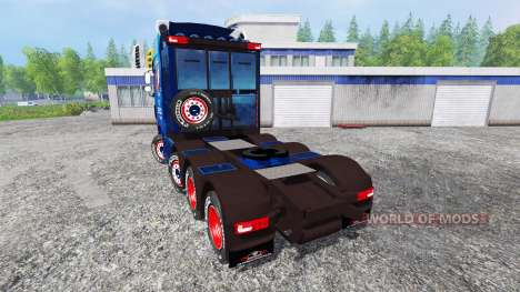 DAF XF для Farming Simulator 2015