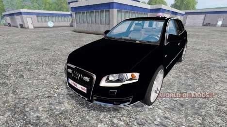 Audi A4 Police для Farming Simulator 2015