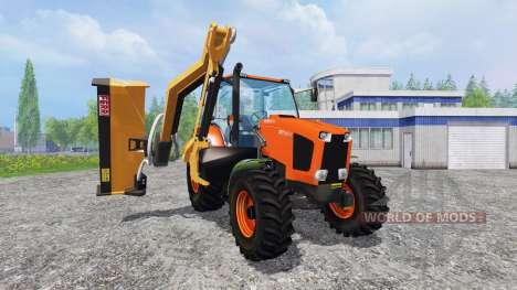 Kubota M135GX [mount mower] для Farming Simulator 2015