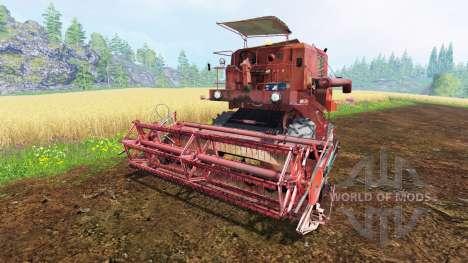 Bizon Z050 для Farming Simulator 2015