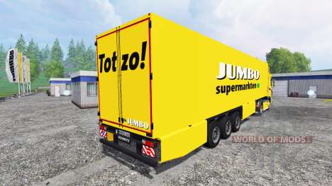 DAF XF Jumbo для Farming Simulator 2015