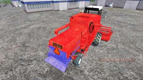 Bizon Z056 для Farming Simulator 2015