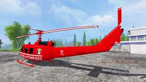 Bell UH-1D [sapeurs pompiers] для Farming Simulator 2015