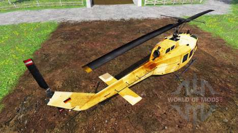 Bell UH-1D [sprayer] для Farming Simulator 2015
