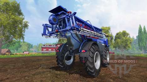 Amazone Pantera 4502 [blue-red] для Farming Simulator 2015