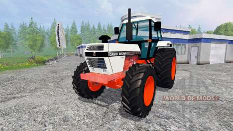 David Brown 1490 4WD для Farming Simulator 2015