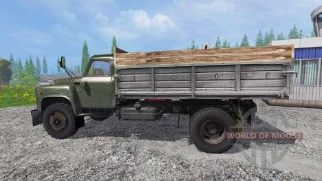 ГАЗ-53 [зелёный] для Farming Simulator 2015