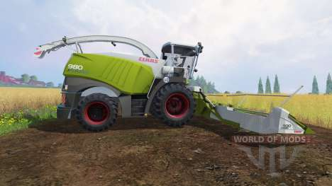 CLAAS Jaguar 980 [dynamic power] для Farming Simulator 2015