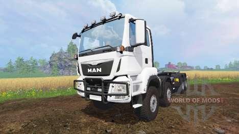 MAN TGS 8x8 для Farming Simulator 2015