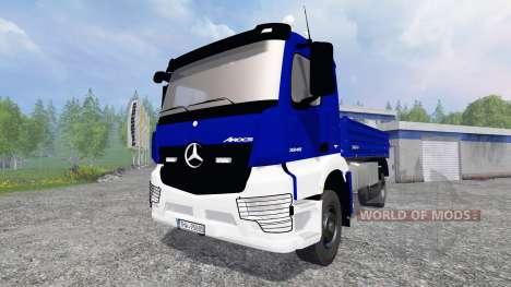 Mercedes-Benz Arocs [kipper] для Farming Simulator 2015