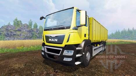 MAN TGS 6x4 [pack] v1.1 для Farming Simulator 2015