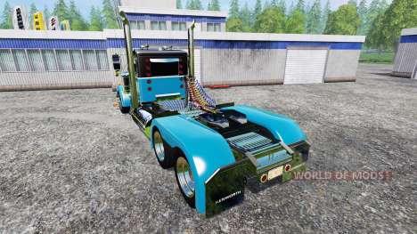 Kenworth W900A для Farming Simulator 2015