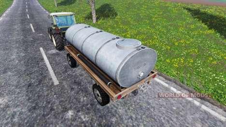 Прицеп цистерна для Farming Simulator 2015
