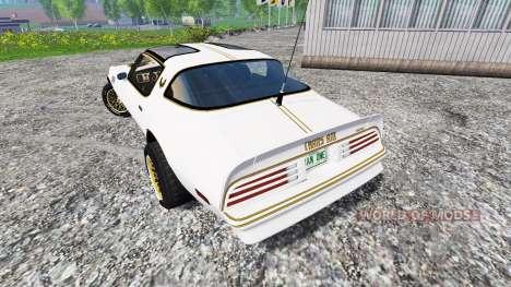 Pontiac Firebird Trans Am 1977 для Farming Simulator 2015