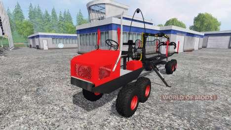 Alstor 8x8 для Farming Simulator 2015
