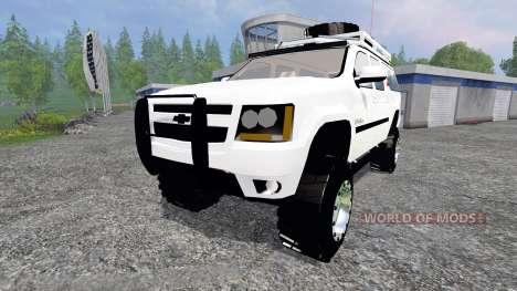 Chevrolet Suburban для Farming Simulator 2015