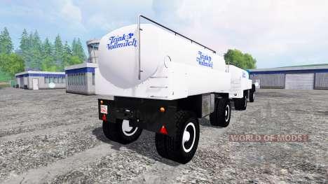 Magirus-Deutz 200D26A 1964 [milk truck] для Farming Simulator 2015