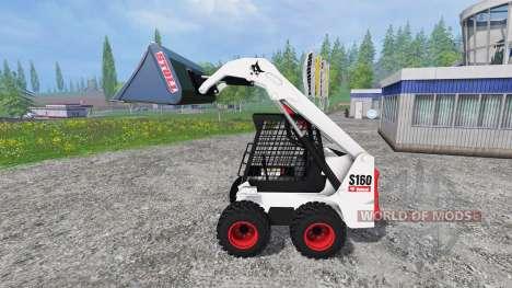 Bobcat S160 для Farming Simulator 2015