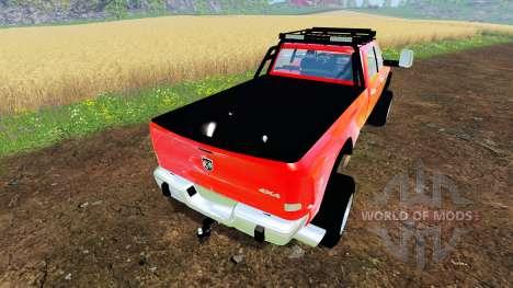 Dodge Ram 5500 Crew Cab для Farming Simulator 2015