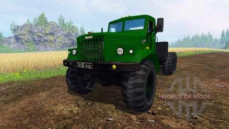 КрАЗ-255 В1 v1.2.1 для Farming Simulator 2015