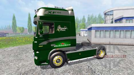 DAF XF Heineken для Farming Simulator 2015