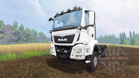 MAN TGS для Farming Simulator 2015