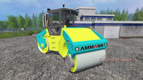 Ammann AV110X для Farming Simulator 2015