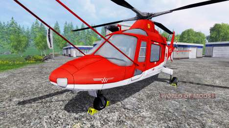 Agusta A.109 [rescue] для Farming Simulator 2015