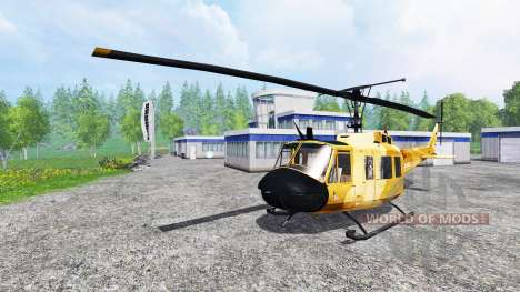 Bell UH-1D для Farming Simulator 2015