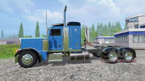 Peterbilt 379 1999 v1.1 для Farming Simulator 2015