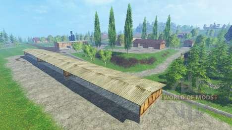 Bennos Yard v1.1 для Farming Simulator 2015