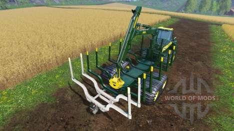 PONSSE Buffalo для Farming Simulator 2015