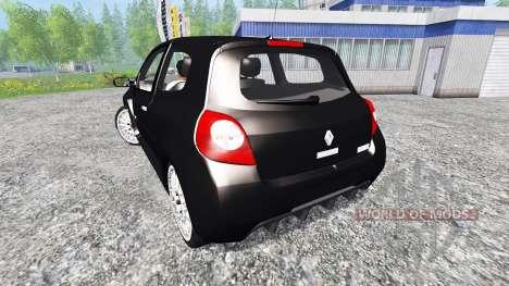 Renault Clio RS для Farming Simulator 2015