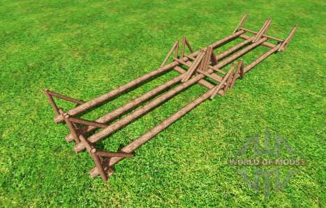 Timber Loading Point v1.2 для Farming Simulator 2015