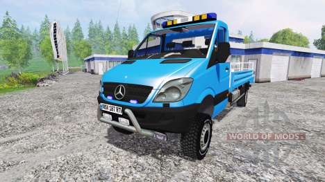 Mercedes-Benz Sprinter [nacelle] для Farming Simulator 2015