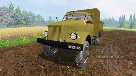 ГАЗ-63 для Farming Simulator 2015