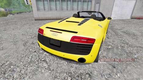 Audi R8 Spyder 2015 для Farming Simulator 2015