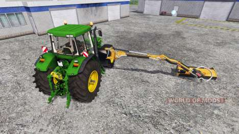 John Deere 7810 [mount mower] для Farming Simulator 2015