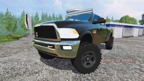 Dodge Ram 2500 v1.1 для Farming Simulator 2015