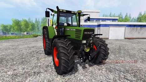 Fendt Favorit 512 для Farming Simulator 2015