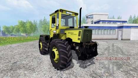 Mercedes-Benz Trac 900 Turbo для Farming Simulator 2015