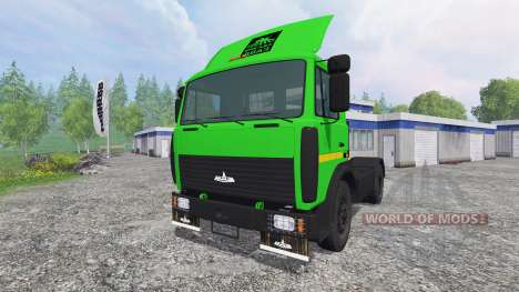 МАЗ-5432 v2.0 для Farming Simulator 2015
