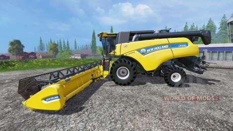 New Holland CR9.90 v1.2 для Farming Simulator 2015